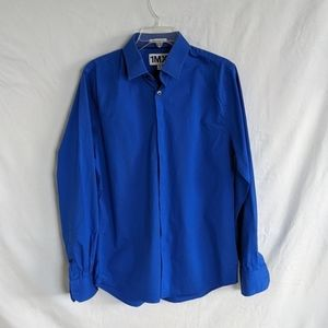 "Royal Blue ""Extra Slim Fit"" 1MX Dress Shirt"